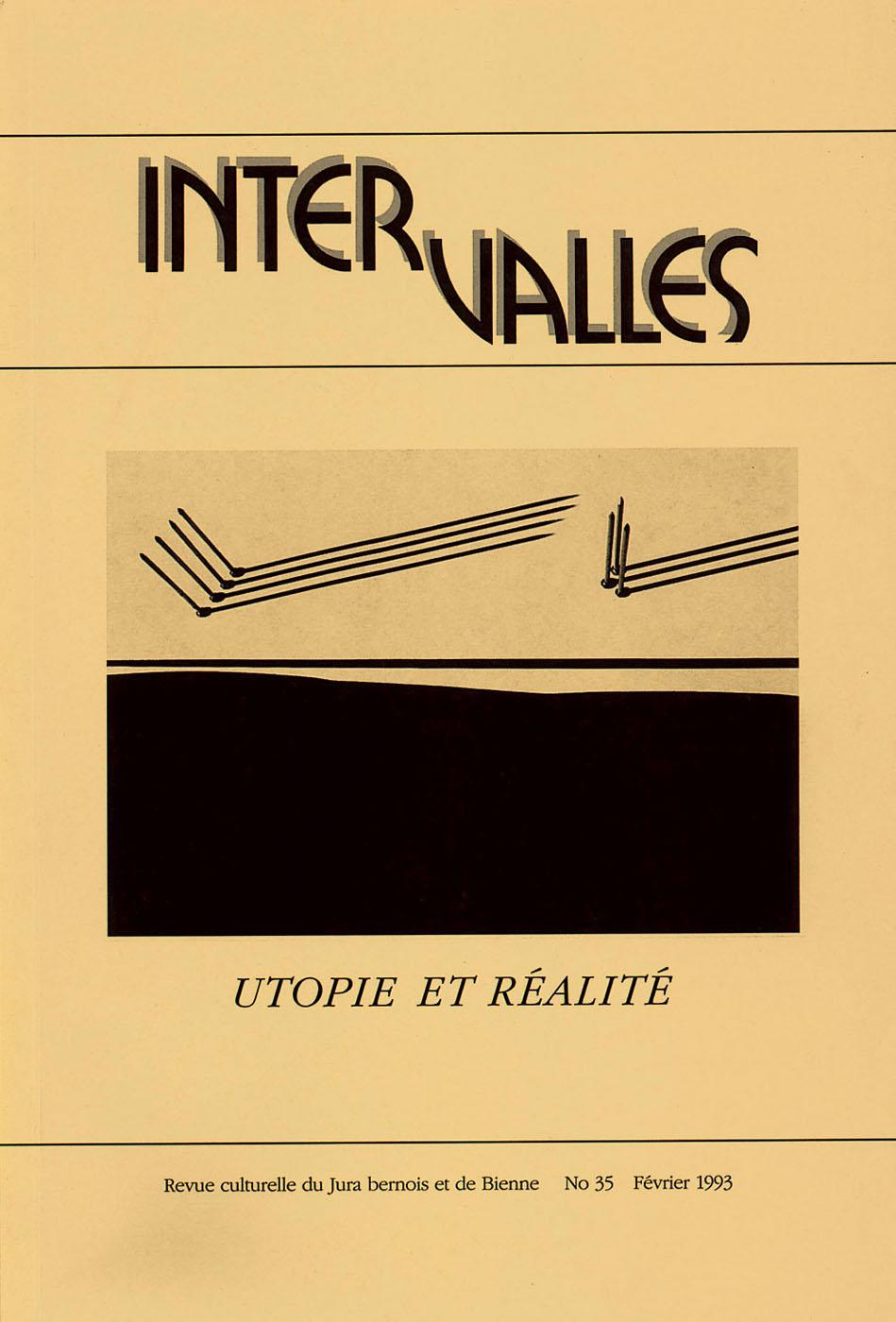 No 35 – Utopie et réalité