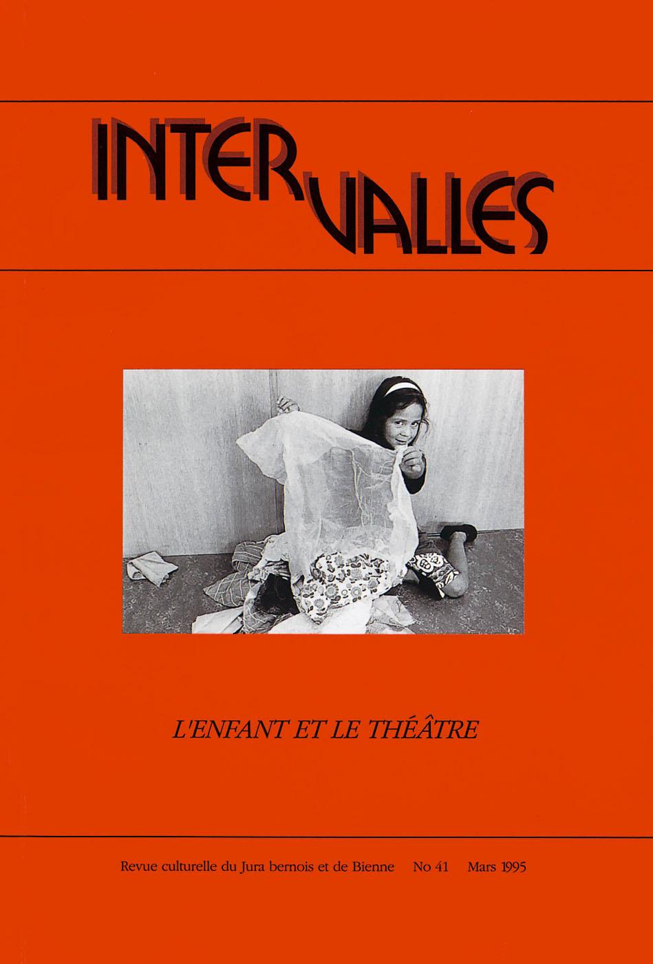 No 41 – L'enfant et le théâtre