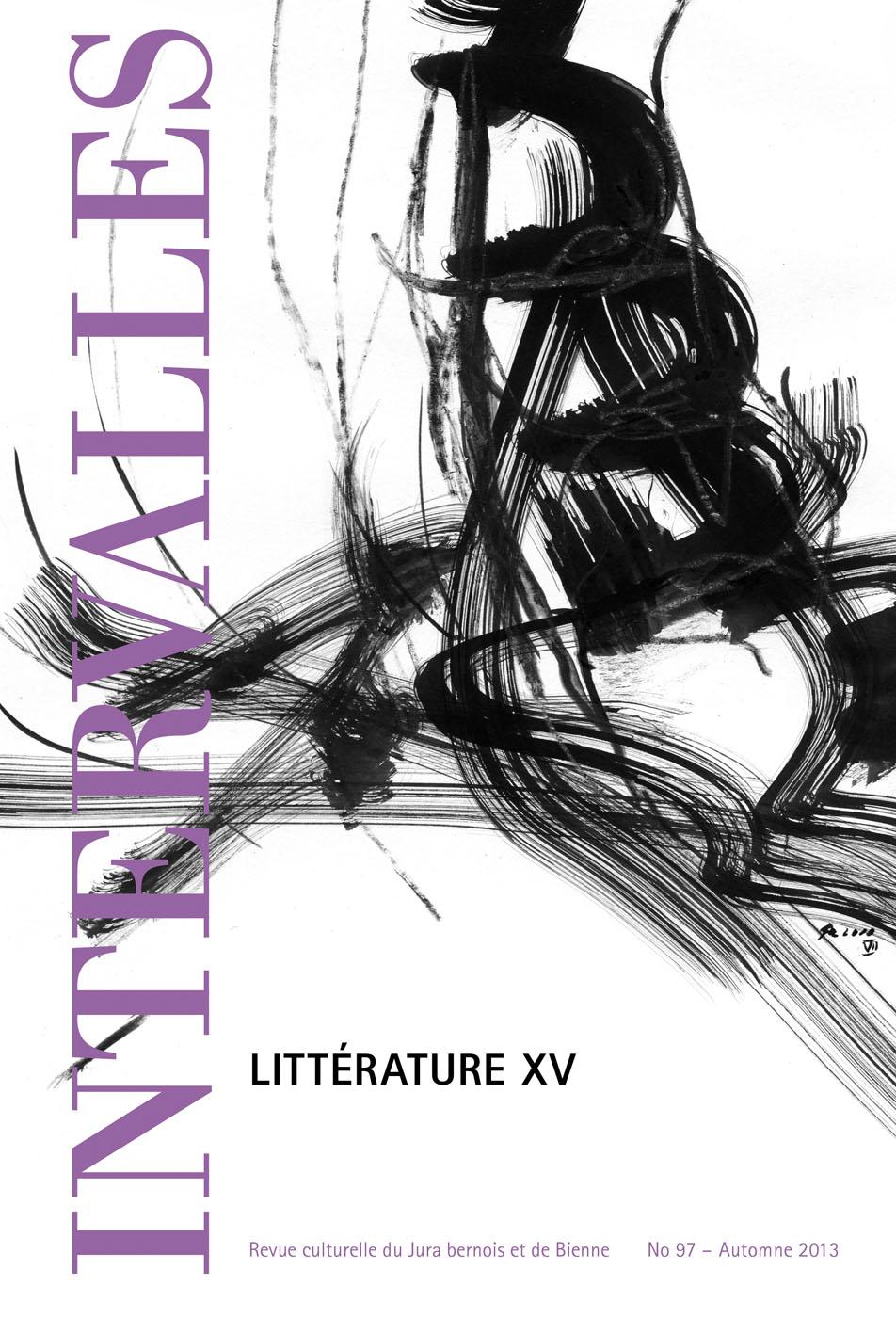 No 97 – Littérature XV