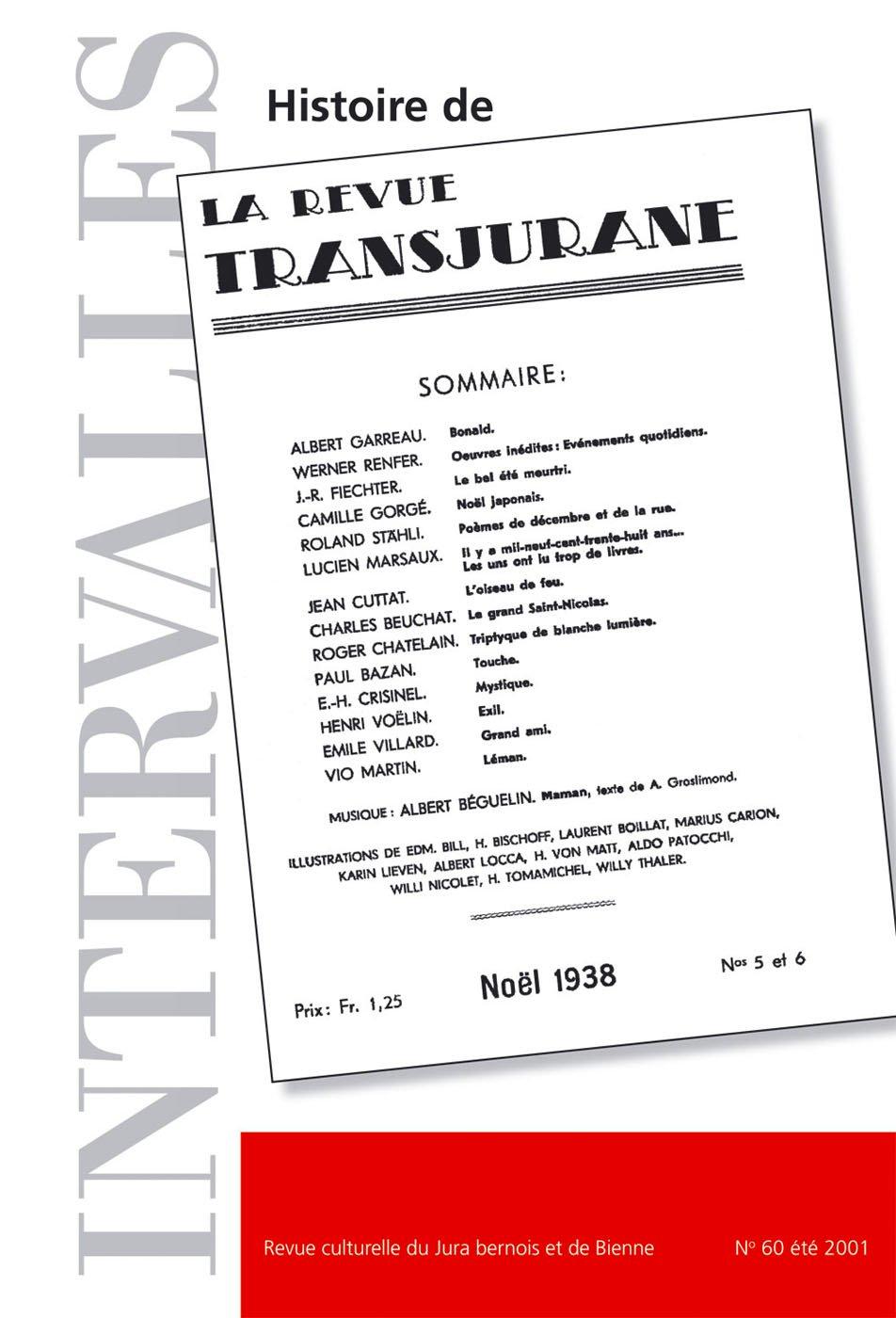 No 60 – Histoire de la « Revue transjurane »