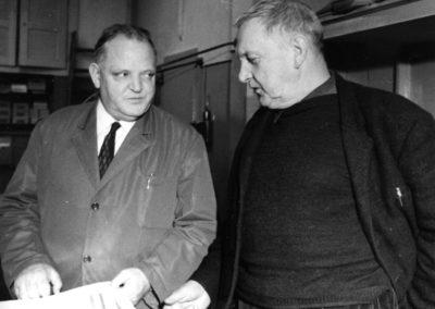 Max Robert et Coghuf en 1968
