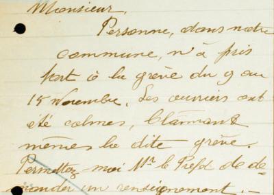 No 111 – Rapports des communes