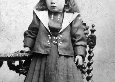 Première photo Werner Renfer enfant