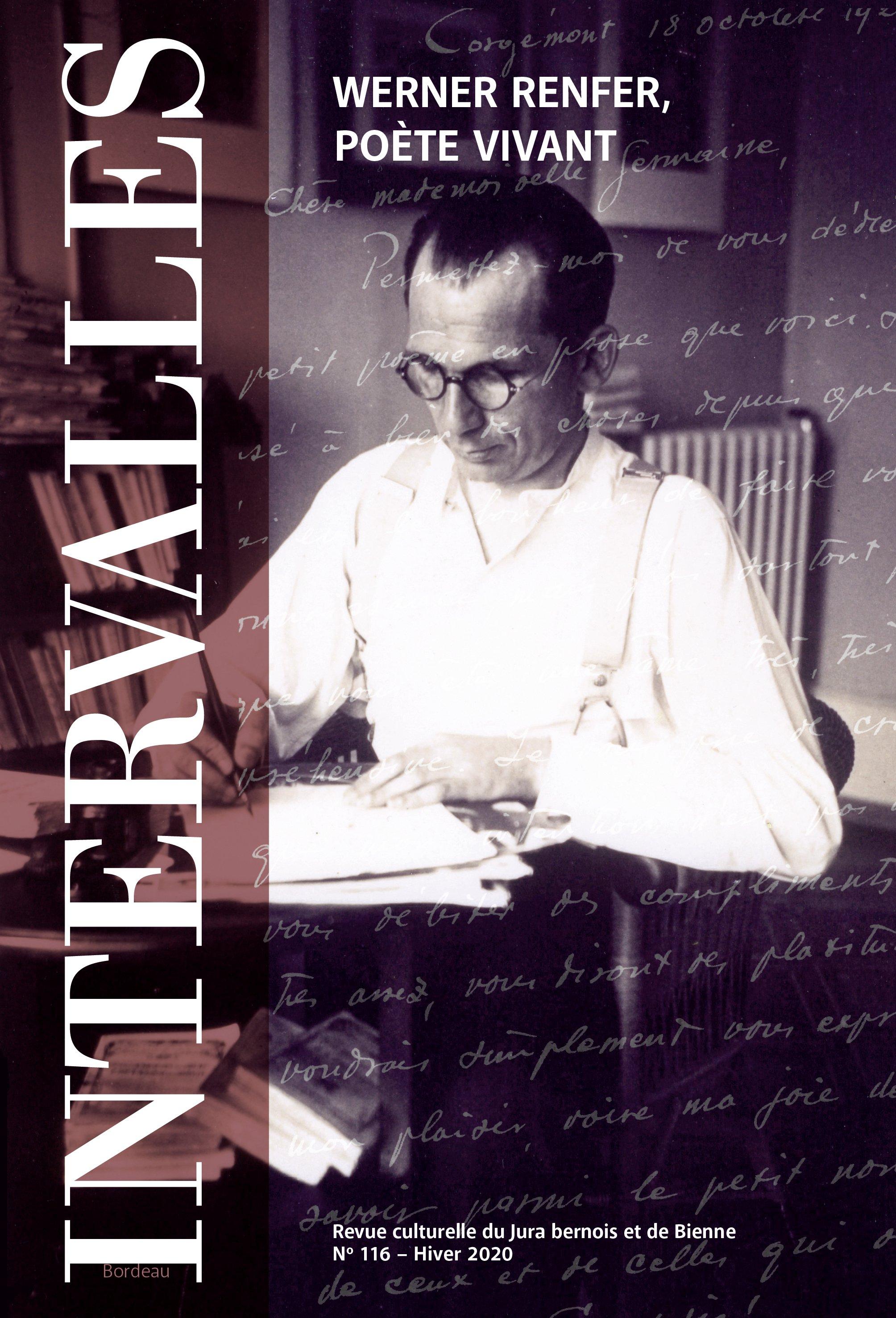 No 116 – Werner Renfer, poète vivant