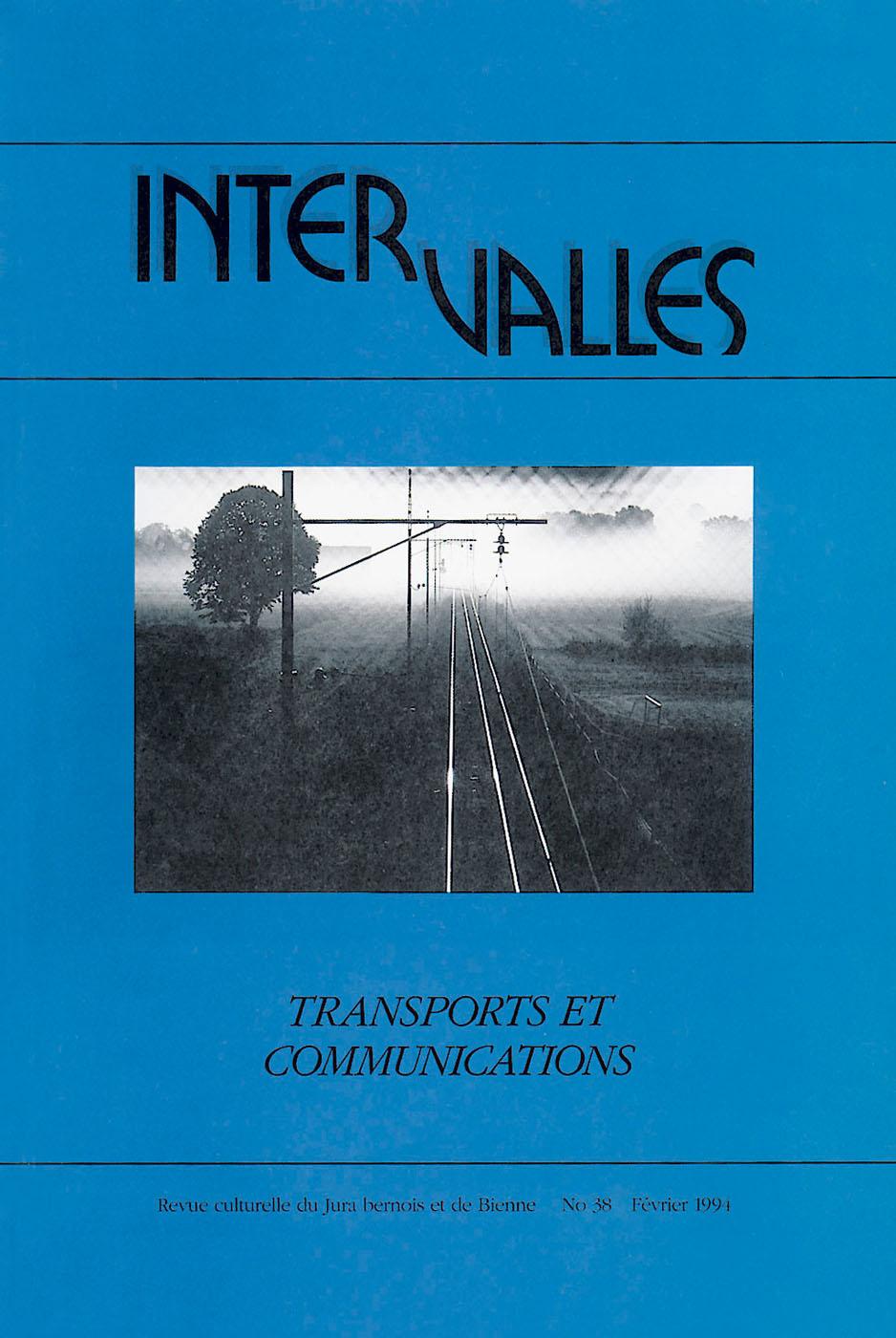 No 38 – Transports et communications