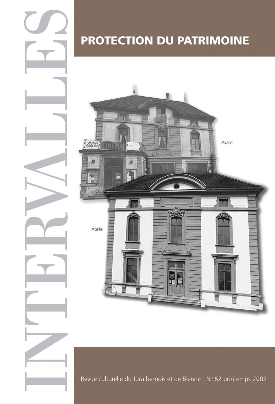 No 62 – Protection du patrimoine
