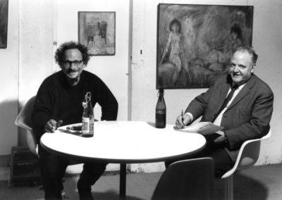 Max Robert et Max Kämpf en 1964