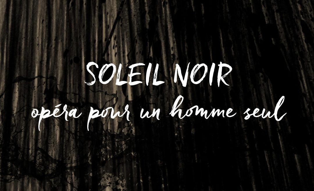 No 113 Soleil Noir – Podcast